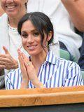 Meghan Markle Found the Preppiest Outfit to Wear at Wimbledon and She Looks Stunning