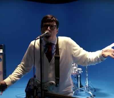 """""""Weird Al"""" Is Rivers Cuomo in Weezer's Very Familiar Video for """"Africa"""""""