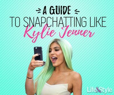 Here's All the Ways You Can Snapchat Just Like Kylie Jenner