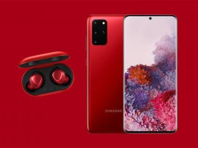 Samsung gives Galaxy S20+ a stunning 'Aura Red' variant, Galaxy Buds+ too