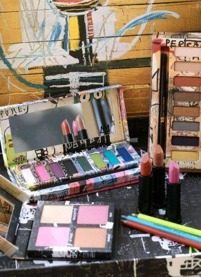 Mostly Makeup-Related Friday Ramblings: The Urban Decay Basquiat Collection, New Makeup Setting Sprays, and Mom Brain