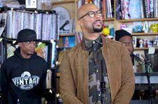 Common's Supergroup August Greene Delivers A Soulful Performance at NPR's Tiny Desk Series