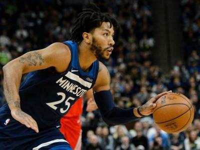 NBA wrap: Derrick Rose explodes for 50 points to lead T-Wolves over Jazz