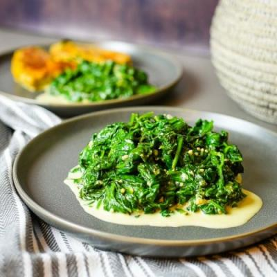 Quick & Easy Creamed Spinach