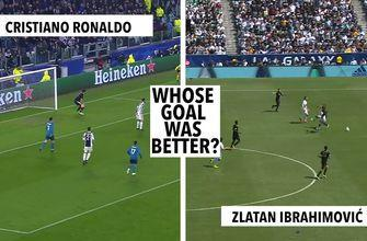 Which goal was better: Cristiano Ronaldo or Zlatan Ibrahimovic?