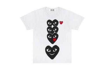 COMME des GARÇONS PLAY Releases an Emoji-Inspired T-Shirt Collection