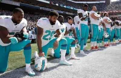 NFL and its players' union 'working on a resolution' to anthem issue