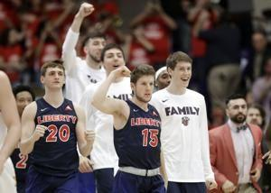 Liberty earns 1st NCAA tourney bid since 2013, tops Lipscomb