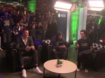 Rob Gronkowski takes on Rams star Todd Gurley in Madden