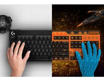 Logitech and HTC Team Up to Integrate Physical Keyboards Into VR Environments