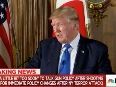 MSNBC Notes 'Striking Difference' in Trump's Reaction to Texas Shooting, NYC Terror Attack