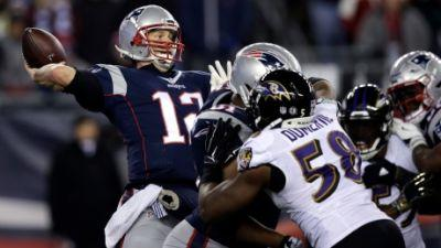 Patriots hold off Ravens with late Brady TD pass