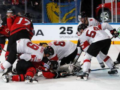 Switzerland's third-period comeback sets up overtime victory over Canada at world championship