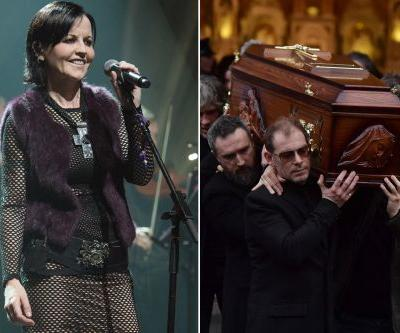 Dozens mourn Cranberries singer Dolores O'Riordan in Ireland