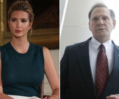 Ivanka sides with victims who claim sexual assault by Moore