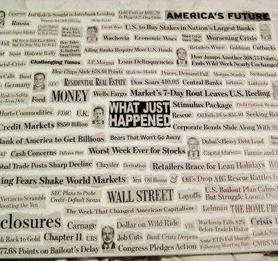 The stock market bottomed 9 years ago - here's what the headlines looked like during the darkest days of the financial crisis