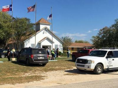 Man opens fire in Texas church, killing more than 20 people