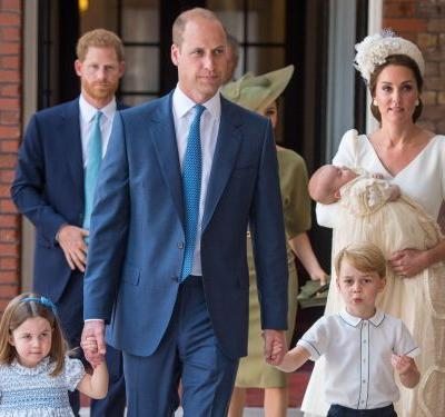 Kate Middleton looked radiant at Prince Louis' christening - and she wore the same brand to Prince George and Princess Charlotte's christenings