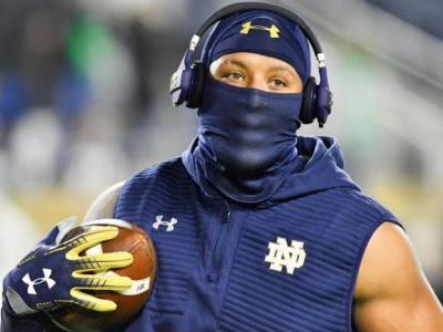 College football scores, schedule, games today: No. 3 Notre Dame, No. 7 LSU in action