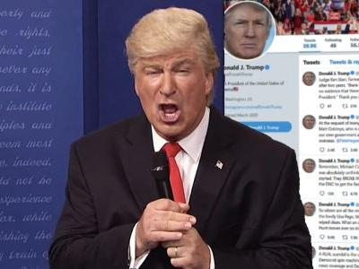 Trump Pegs Saturday Night Live Sketches as 'The Real Scandal' That 'Should be Tested in Courts'