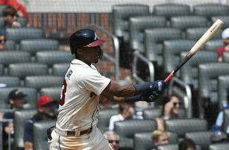 Double duty: Acuna homers leading off both games of DH