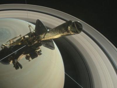 Cassini's Saturn Mission Goes Out In A Blaze Of Glory