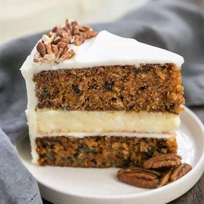 Delightfully Rich Cheesecake-Filled Carrot Cake