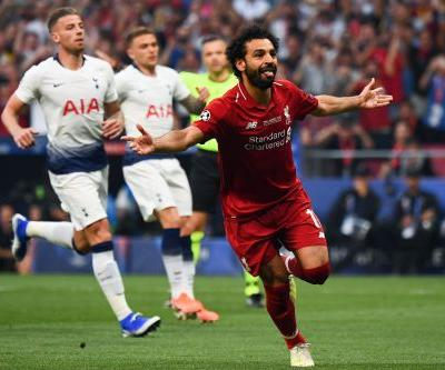 Liverpool draws penalty in under 30 seconds to take lead in Champions League final