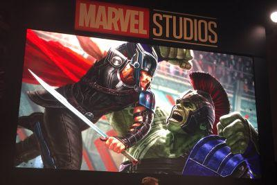 A new poster for the next 'Thor' movie shows a God of Thunder and Hulk showdown