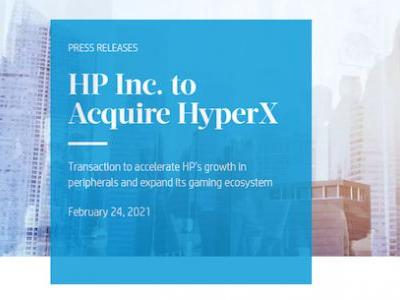 HP is Acquiring HyperX for $425 Million