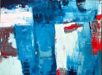 "Contemporary Art, Abstract,Expressionism, Studio 9 Fine Art ""Future Days"" by International Abstract Artist Amanda Saint Claire"