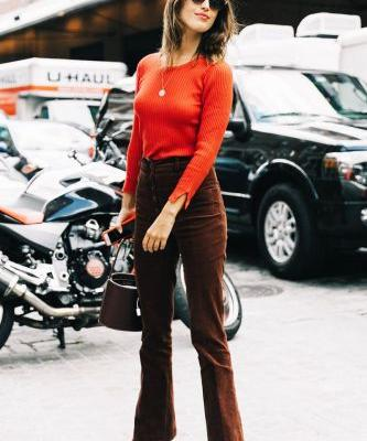The Cute Casual Outfits It Girls Wear When They Don't Have Time to Bother