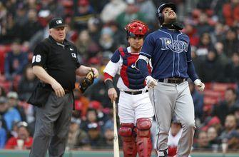 Rays fall apart in 8th inning, drop finale to Red Sox for 8th straight loss