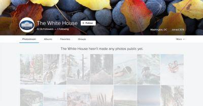 The White House Flickr Account Just Changed Hands from Obama to Trump