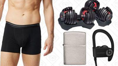 Sunday's Best Deals: PowerBeats3, Zippo, Adjustable Dumbbells, and More