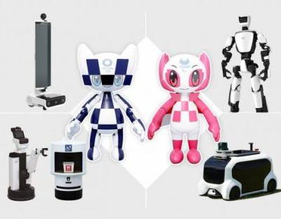 Toyota robots to let people enjoy the Tokyo 2020 Olympics in a new way