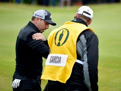 Sergio Garcia almost had to withdraw from The Open Championship after injuring himself fighting a bush