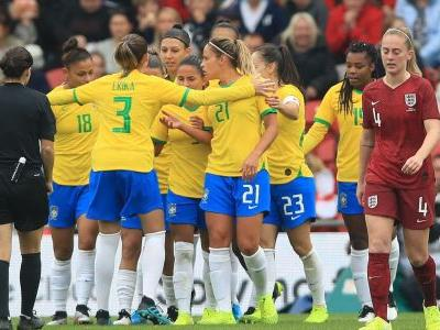 England Women lose to Brazil as World Cup hangover continues