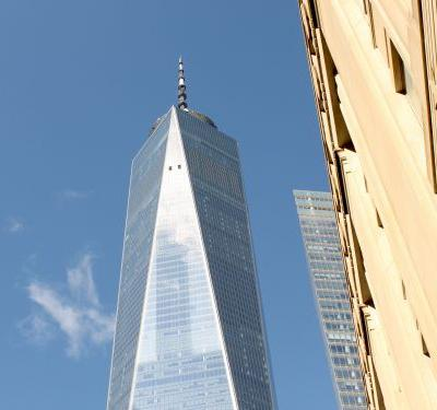 NYC's new One World Trade Center dominates the skyline - but I went inside and it didn't look like the bland, traditional office building I was expecting