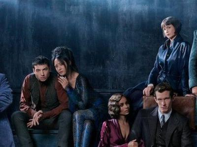 Young Dumbledore Revealed in Fantastic Beasts 2 Cast Portrait
