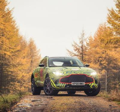Aston Martin just gave us a first look at its new DBX SUV that will take on Bentley and Lamborghini