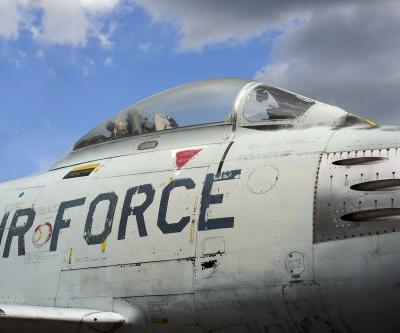 Air Force training jet crashes on the Texas-Mexico border