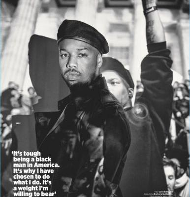 Michael B. Jordan Covers British GQ, Discusses Importance of 'Black Panther'