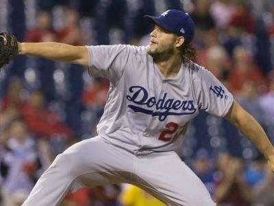 Watch: Clayton Kershaw allows first-ever grand slam to Aaron Altherr