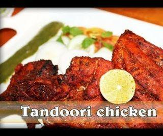 Tandoori Chicken in Microwave Indian Grilled/ Roasted Chicken in Microwave