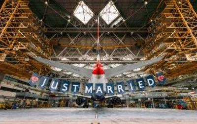 British Airways unveils royal wedding-themed flight with crew named Harry, Meghan