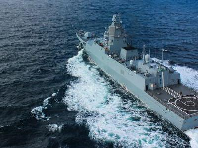 9 photos of Russia's new stealth frigate, a small warship that's much better armed than the US Navy's LCS