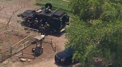 Man in custody after hours-long SWAT standoff