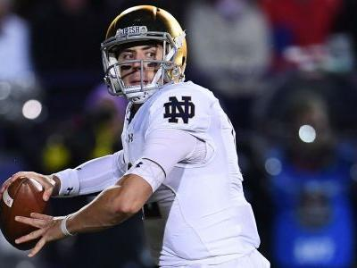 Notre Dame QB Ian Book to miss Florida State game, reports say