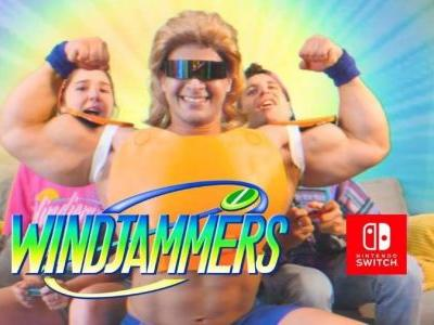 Windjammers Coming to Nintendo Switch